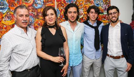 Familia Correa Milán .