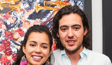 Sofía Milán y Daniel Correa.