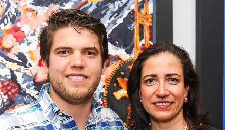 Ricardo de la Torre y Rebeca Sandoval.