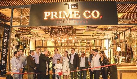 Inauguración de Prime Co, en Covalia.