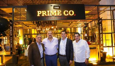 Armando Rubio, Jairo Santiago, Emmanuel Marín y Ricardo Méndez .