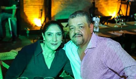 Patricia y Jairo Santiago.