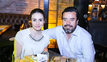 Daniela Kemp y Luis Fernando Córdova.