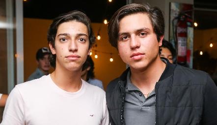 Juan Pablo Dip y Andrés Zepeda.