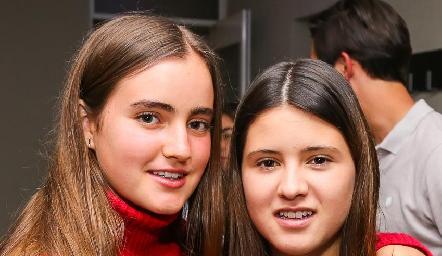 Lorena de la Garza e Isa Navarro.