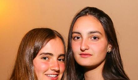 Lorena de la Garza y Lorenza Gárate.