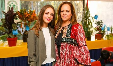 María Malo y María Veliz.