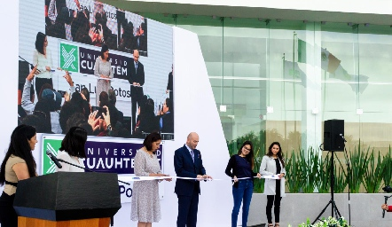 Inauguración del nuevo Campus Cuauhtémoc.