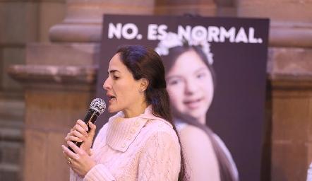Inauguración de la campaña No. Es. Normal.