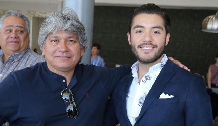 Rubén Lemus y Alejandro Pérez.