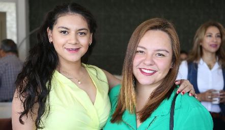 Natalia Méndez y Nathalie Martínez.