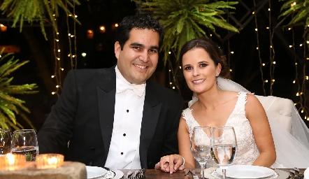 Rodrigo PoumianMartínez y Ana Paty MeadeTrujillo.