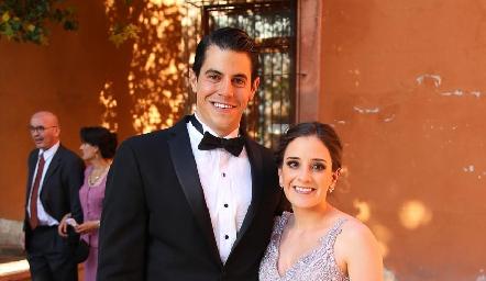 Emmanuel Ortuño y Elsa Meade.