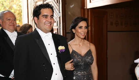 Rodrigo Poumiancon su mamá Elisa Martínez.