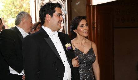 Rodrigo Poumian con su mamá Elisa Martínez.