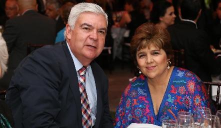 Federico y Claudia Mendizábal.