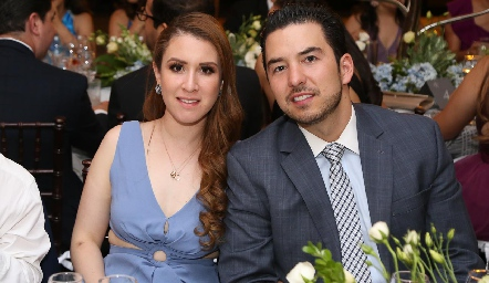 Karla Puente y Federico Mendizábal.