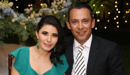 Mariana Cuesta e Isaac Arvizu.