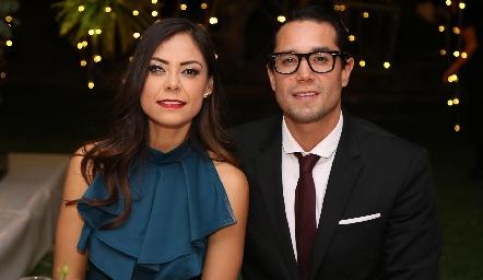 Daniela Zacarías y Víctor Menchaca