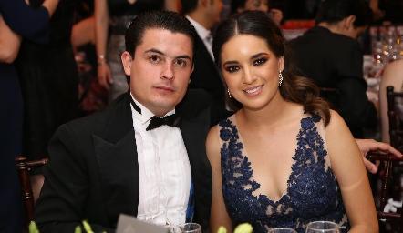 Emmanuel Meade y Clarisa Ponce.