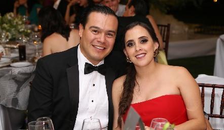 Manuel Zacarías y Elena Meade.