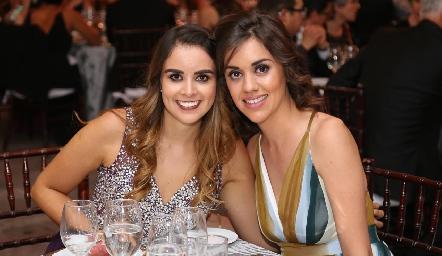 Paola Gallegos y María Pía González.