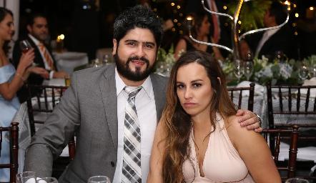 Martín Arochi y Ximena Murillo.