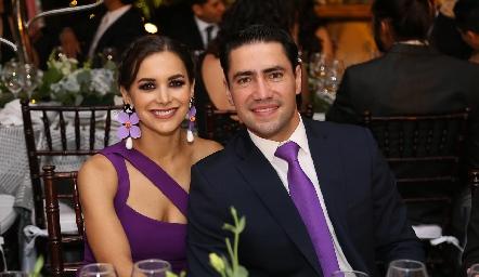 Claudia Dibildox y Francisco Cabral.