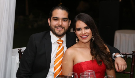 Patricio Valdes y Nicole Petersen.