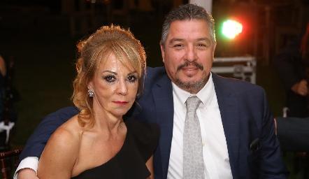 Beatriz de la Torre y Jorge Miguel Martínez.