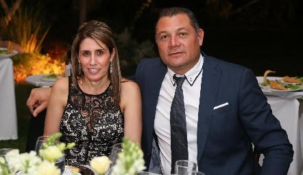 Nora Villalpando y José Villegas.
