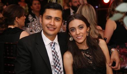Irving Castillo y Michelle Solórzano.