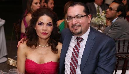 Laura Pineda y Carlos Cerda.