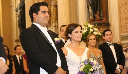 Rodrigo Poumian y Ana Paty Meade.