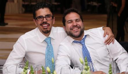 José Martínez y Jordi Salvatella.