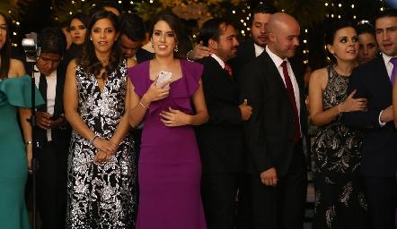 Acompañando a Rodrigo y Ana Paty.