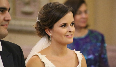 La hermosa novia Ana Paty Meade.