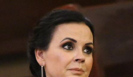 Elsa Trujillo deMeade, mamá de la novia.
