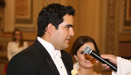 Boda de Rodrigo Poumian y Ana Paty Meade.
