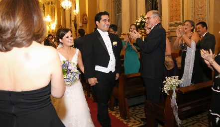 Ana Paty Meade y Rodrigo Poumian.