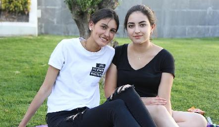Natalia Gárate y Ana Martha Ocaña.