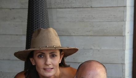 Claudia Artolózaga y Juan Carlos Nieto.