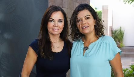 Elsa Tamez y KikisFernández.