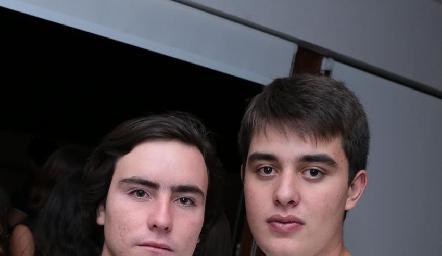 Mateo Guerra y Diego Castillo.
