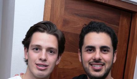 ChecoBedolla y Jorge Chevaile.