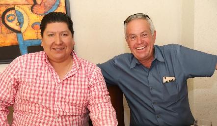 René Díaz y Alfonso Gordoa.