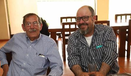 Benjamín Araujo y Alejandro Acuña.