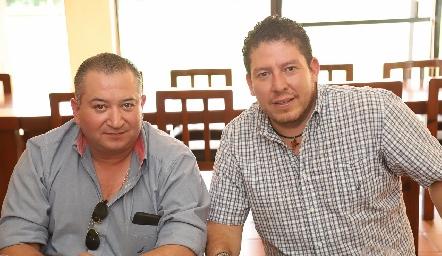Gerardo Palau y Alfonso Gordoa.