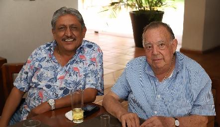 Carlos Díaz de León y Jacobo Payán.