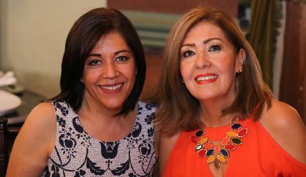 Helena Arriaga y Graciela Martínez.